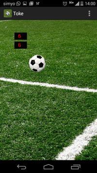 Touch soccer screenshot 2