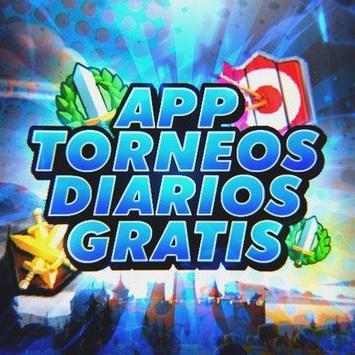 Torneos Diarios Clash Royale poster