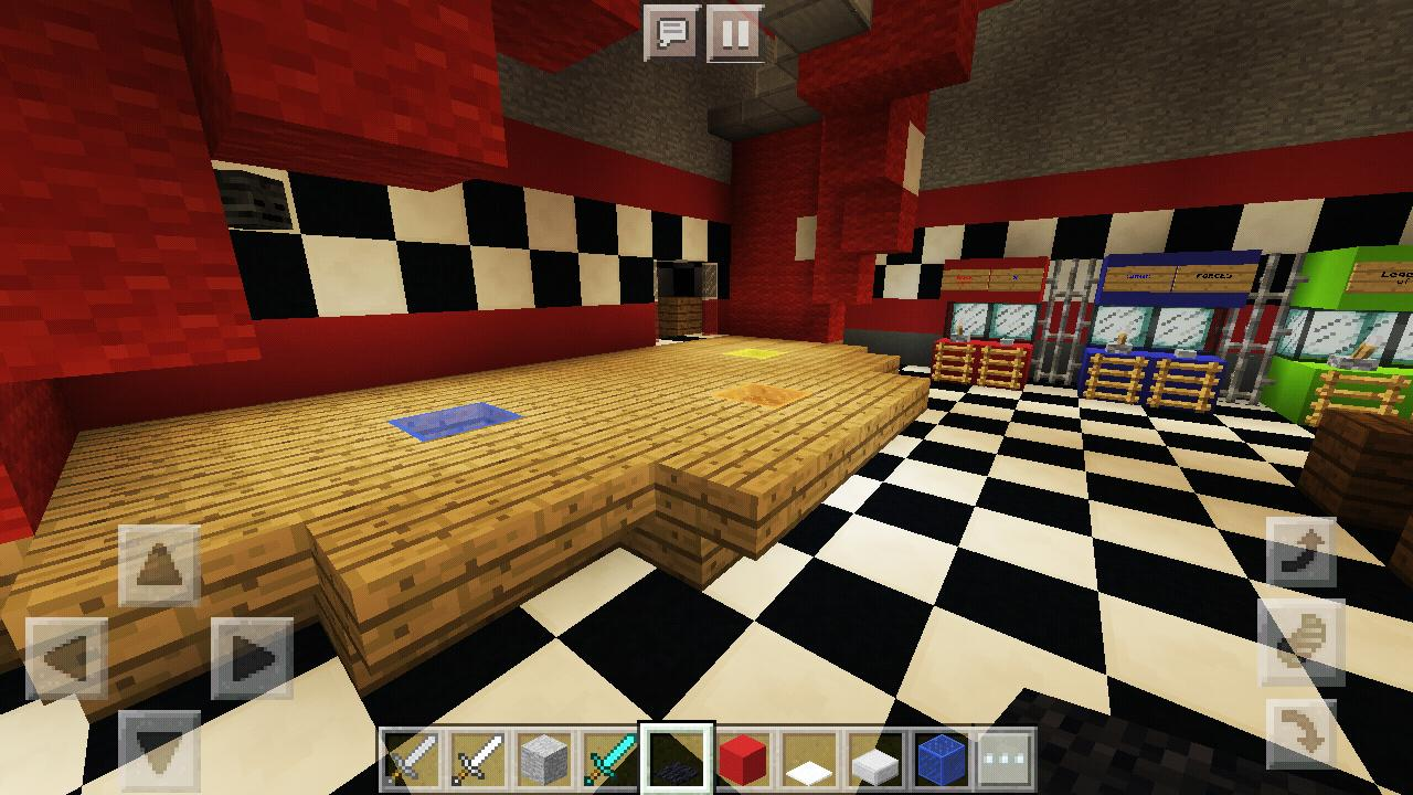 FNAF Horror Pizzeria  Map for MCPE for Android - APK Download