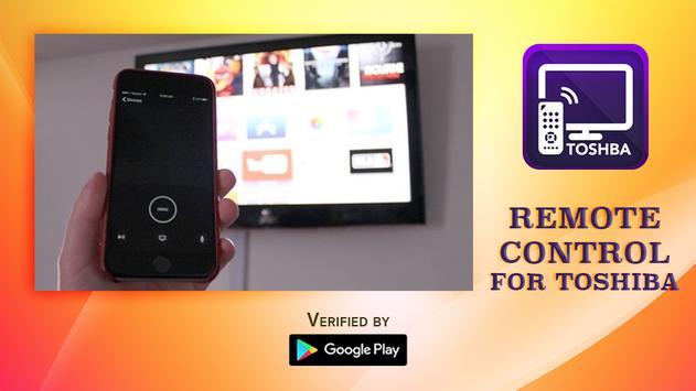 Remote Control For Toshiba Smart TV poster