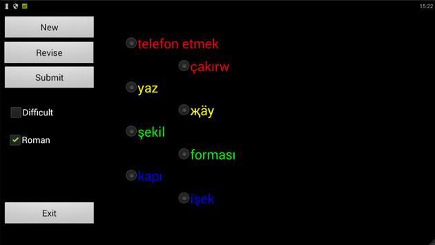 Tatar Turkish Dictionary screenshot 2