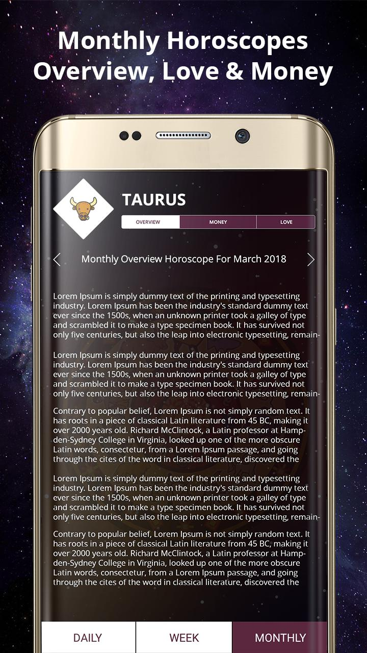 Taurus Daily Horoscope for Today with Love & Money for Android - APK