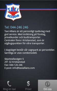 Taxi Allians apk screenshot