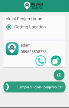 Pesan Taksi Pengemudi screenshot 3