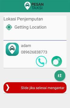 Pesan Taksi Pengemudi screenshot 4
