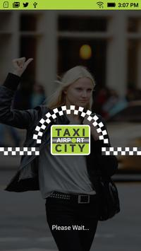 Taxi Airport City Driver poster