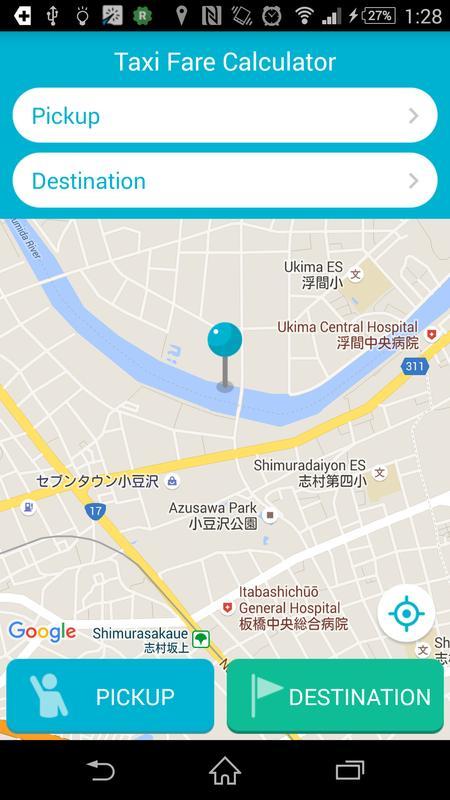 japan taxi fare calculator