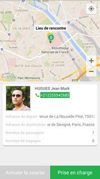 Taxitop Chauffeurs screenshot 5