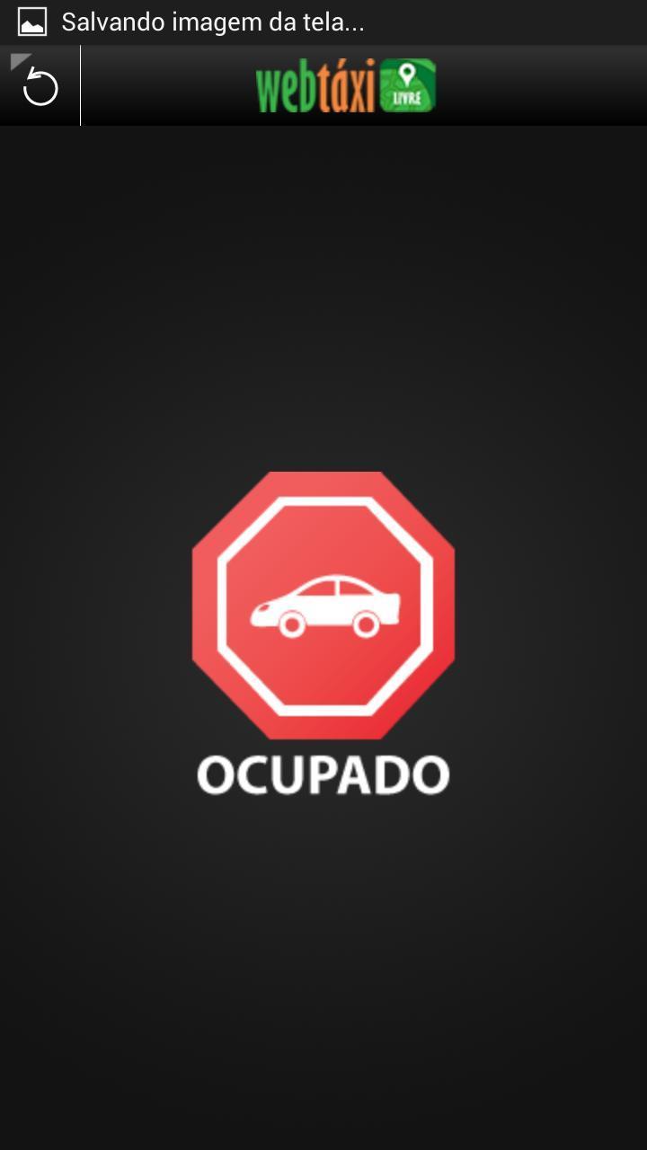 WebTáxi Livre Carro poster