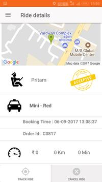 Online Taxi Booking - User App -TripMegaMart poster