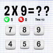 multiplication game icon