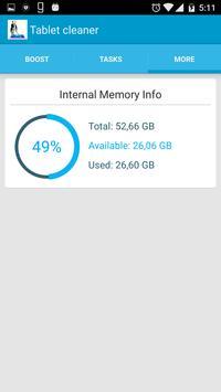 Tablet Cleaner screenshot 1