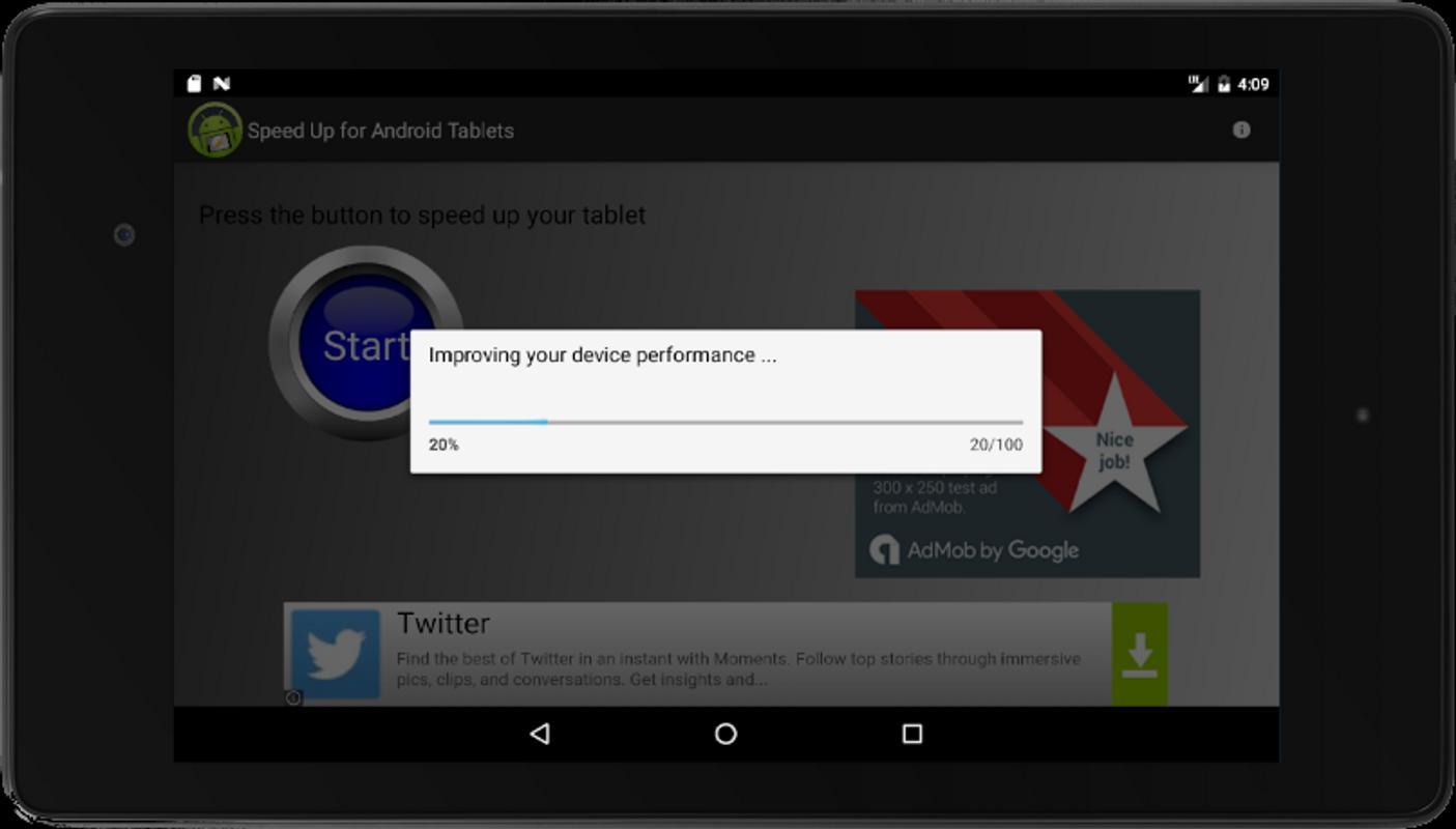 how to speed up tablet