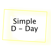 Simple D-day icon
