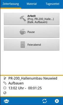 BIZS-Zeiterfassung ALT screenshot 4