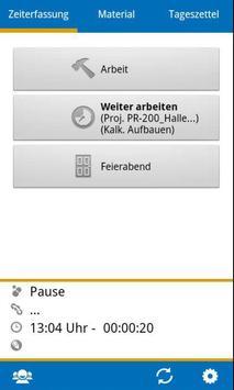 BIZS-Zeiterfassung ALT screenshot 5