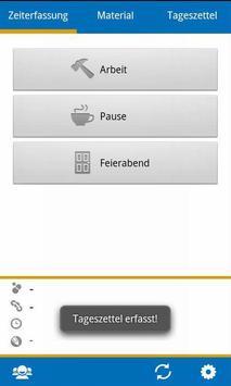 BIZS-Zeiterfassung ALT screenshot 6