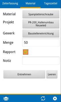 BIZS-Zeiterfassung ALT screenshot 1