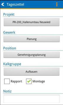 BIZS-Zeiterfassung ALT screenshot 3