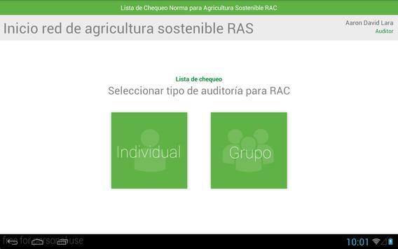 Naturacert App screenshot 1