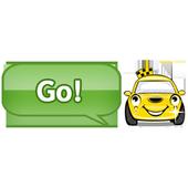 Japanese Taxi search Takuru icon