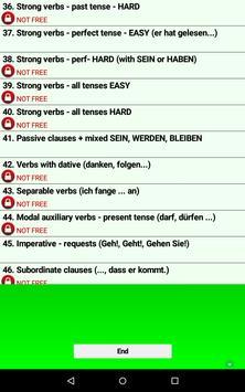 Talk German Grammar F screenshot 16