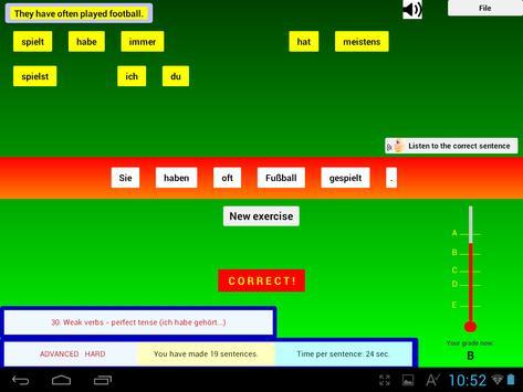 Talk German Grammar F screenshot 11