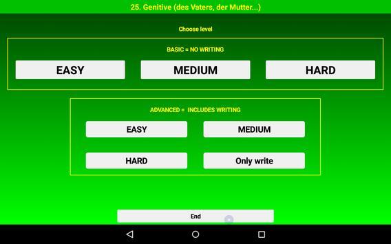 Talk German Grammar F screenshot 12