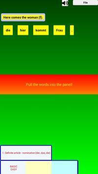 Talk German Grammar F screenshot 1