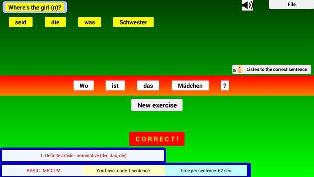 Talk German Grammar F screenshot 4