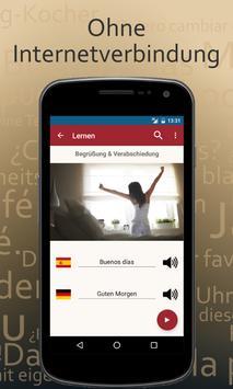 Spanisch lernen für den Urlaub apk screenshot