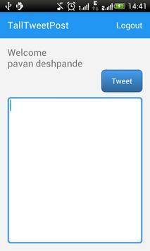 TallTweetPost screenshot 2