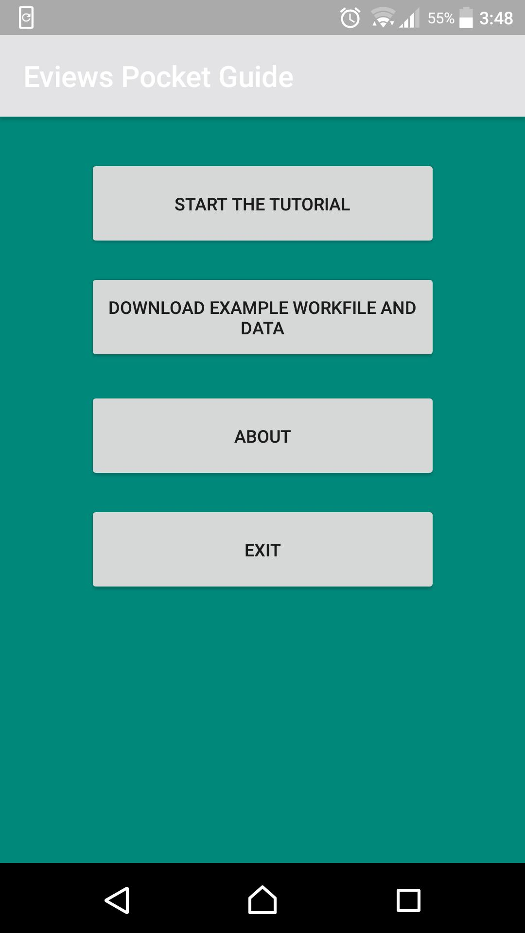 Eviews 10 Pocket Guide for Android - APK Download
