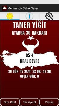 Mehmetçik Şafak Sayar poster