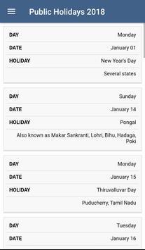 Tamil Calender 2018 screenshot 5