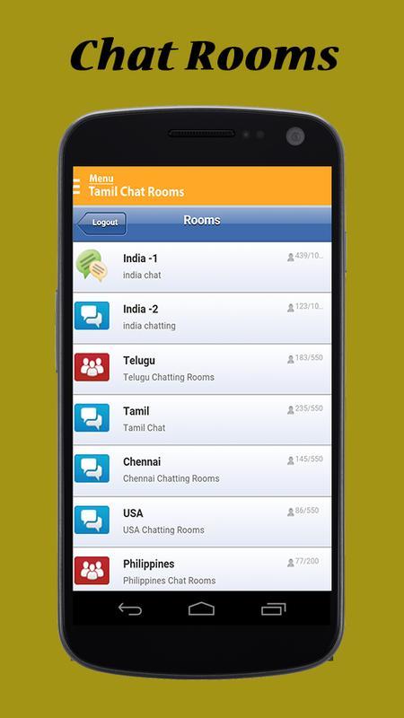 Tamil chat room free apk baixar gr tis social - Live chat room without registration ...
