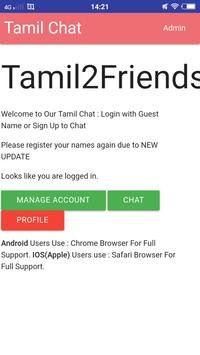 Tamil Chat screenshot 2