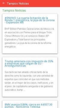 Noticias Tampico poster