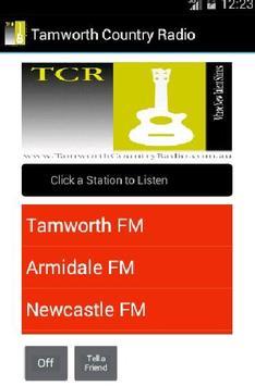 Tamworth Country Radio Network poster