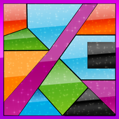 Curved King Tangram : Shape Puzzle Master Game icon
