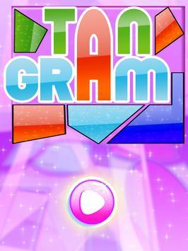 Curved King Tangram : Shape Puzzle Master Game screenshot 5