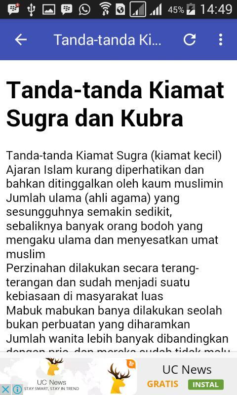 Tanda Tanda Kiamat For Android Apk Download