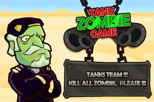 Tank Zombie poster
