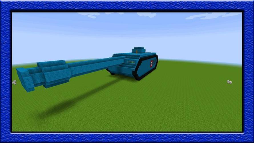 Как построить танк на рэдстоуне в майнкрафт 1 8