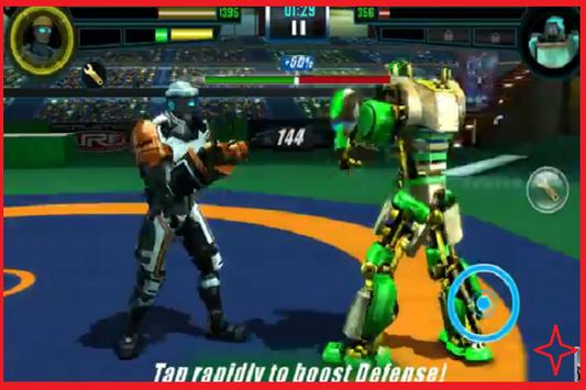 Best trick Real steel WRB poster