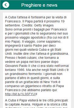 Preghiere e news cattoliche apk screenshot