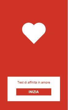 Test di affinità poster