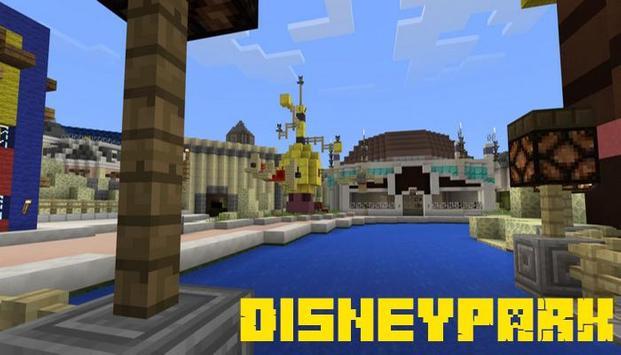 Map Disneyland For Minecraft APK Download Free Entertainment APP - Disneyland map fur minecraft pe