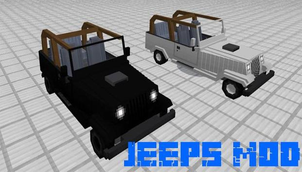 Jeeps mod for minecraft screenshot 2