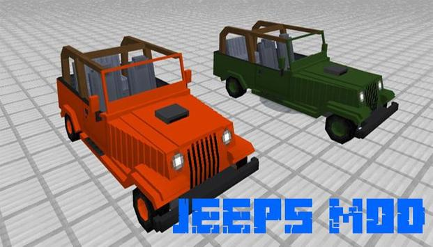 Jeeps mod for minecraft screenshot 3
